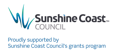 Proudly Supported by the Sunshine Coast Council's grants program.