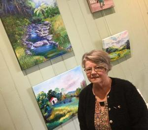 Julie Chadwick Artist of the Month August 2018