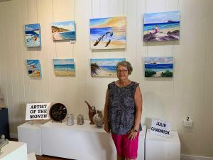 Julie Chadwick Artist of the Month February 2021