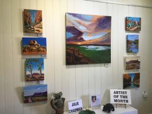 Julie Chadwick Artist of the Month November 2019
