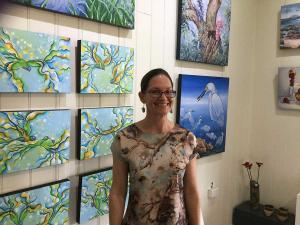 Kristy-Ann Duffy Artist of the Month October 2019