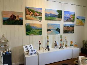 Rod Moore, Artist of the Month at Yandina Historic House, September 2020