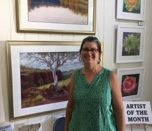 Anne Yang Artist of the Month March 2020 Yandina Historic House Art Gallery