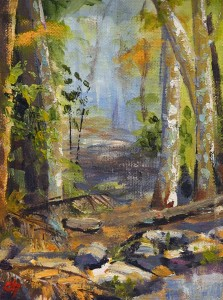 Bli-Bli Forest  Oils Julie Chadwick