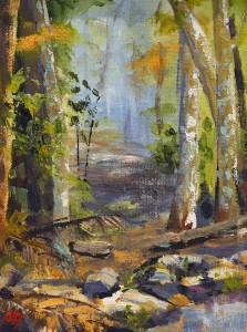Bli-Bli Forest  Oils Julie Chadwick