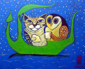 leach-owl-and-pussycat