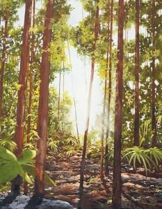 Rex Metcalfe - detail-kimberley forest