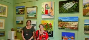 Sally & Julie - Coolum Art Group