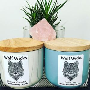 Wolf Wicks Candles