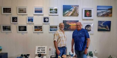 Ralph Brown Artist of the Month at Yandina Historic House October 2021